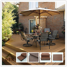 140*38.5 Wood Plastic Composite decking flooring, Recyclable, Solid Wpc Decking Floor (OD-140H-38A)