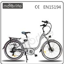 MOTORLIFE/OEM EN15194 2014 HOT SALE 350w electric bicycle&electric bike