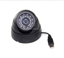 H.264 Security Camera Micro SD/TF Card Slot DVR USB 0.3MP Home security usb dome camera