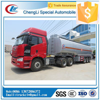 Hot Sale 30,000 liters to 60,000 liters Petrol Tank truck Trailer with 5 compartments /Fuel Tanker Semitrailer/crude oil