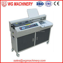 Best quality most popular book packaging twin wire binding machine