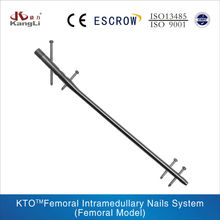 KTO Femoral Intramedullary Nails System For Medical Equipments,Orthopedic Implant,Surgical Instruments