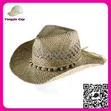 Venta al por mayor por encargo del sombrero de ala fresco estilo wibe ala sombrero sombreros de paja mexicano