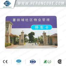 New stylish pvc visa card Chinese chip card factory