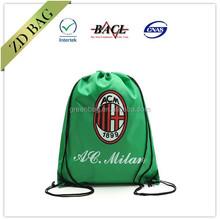 wholesale polyester custom drawstring bag