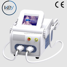 Super hair removal two handles hair removal ipl shr opt optimal pulse technology