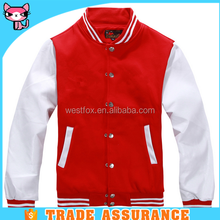 Casual Sports Red American Basketball Jacket Man