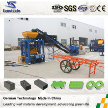 Cement Brick Making Machine for Small Business In Africa/China best quality larger output automatic clay brick making machine