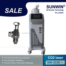 New CO2 Fractional Laser For surgery Scar removal,Freckles or spots removal