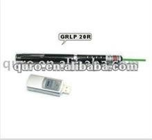 GRLP20R-wireless slide changer rc green laser pointer