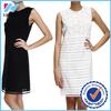 Dongguan YiHao 2015 New fashion dress lace mini O-neck sleeveless dress,free pore dress
