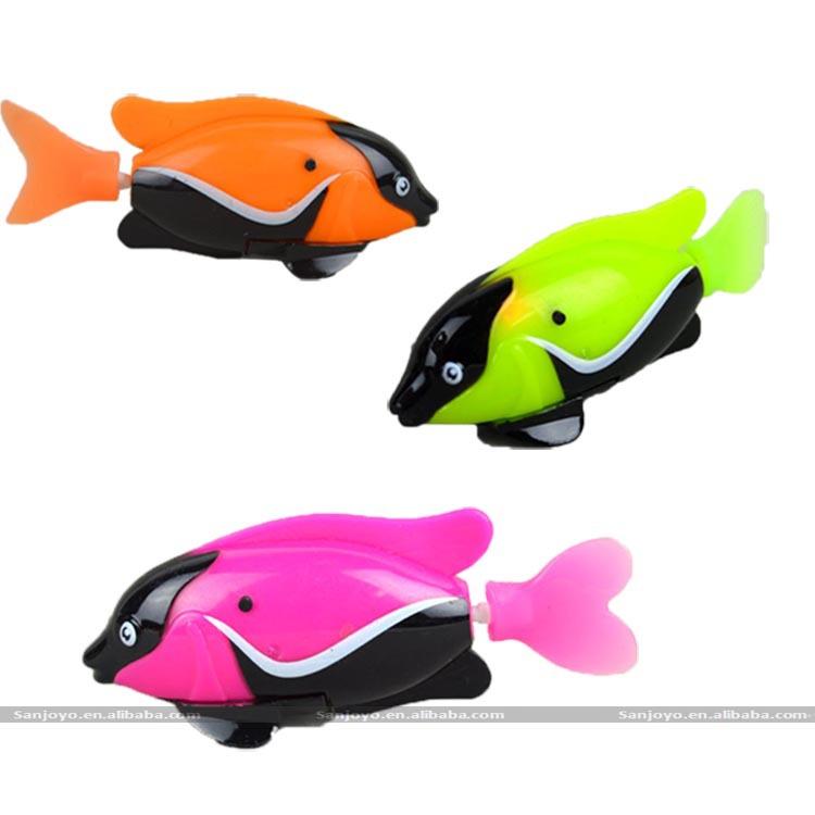 Jouet de bain flottant de natation rc jouet robot poisson for Jouet aquarium poisson