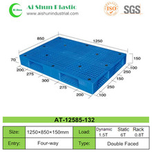 No.132 Double reversible faces reinforced stacking plastic pallets
