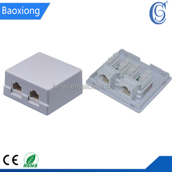Wholesale goods from china 1 port rj45 surface box