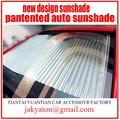 Sombrilla del coche cortina del coche nuevo diseño pantented universal cortina parasol del coche accesorios