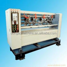 Have seat can be usdful 3/5 layers Electric adjustment knives slitter scorer machine for cardboard