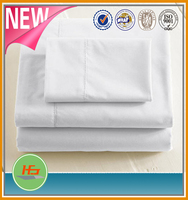 All Size Hotel white Cotton Bed Sheets/Bed Linens/Bedsheets