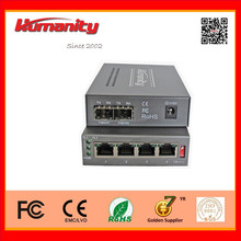 1+1 optical port backup Ethernet Switch