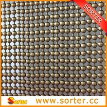 decorative luxury silver metal beads curtains