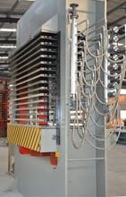 KMD-H3 Automatic hydraulic plywood hot pressmachine/ hot press for furniture board/woodworking hot press machine