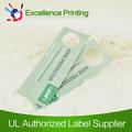 Etiqueta de alta calidad de papel