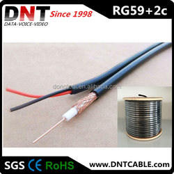CCTV Coaxial Cable RG59 with Power Cable China Manufacturer High Quality RG59