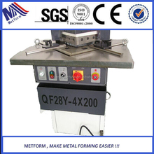 2015 top supplier fixed angle notcher 6mm metal steel cutting machine from manufacturer