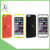 2015 Factory price wholesales wireless Bluetooth shutter mobile phone flip case for iphone 6 YM-PT 12