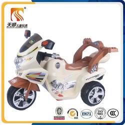 Top popular three wheel cheap kids electric motorcycle wholesale