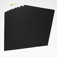 Customize Card Black Paper 400 gsm Black Smooth Card Board