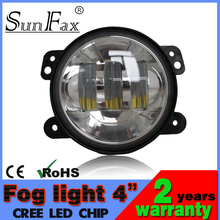 """Best price!!! Off road accessory 4"""" 30W Jeep fog light led headlight for harley motorcycle, C REE headlight for trucks, atv"""