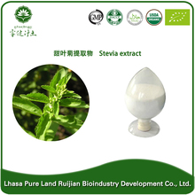 Top quality stevia extract manufacturer ,stevia extract 95% steviosides , natural sweetener from stevia leaf extract