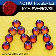 Promotional Swarovski Elements Volcano (VOL) 7ss Flat Back Crystal No Hot Fix Rhinestone
