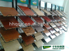 HDF laminated flooring with cork
