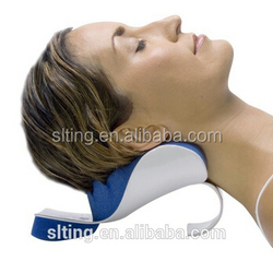Real - Easy Neck Support Pillow& Memory Foam Massage Pillow