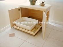 Mayor gato caja de arena de carga bentonita gato de arena arena para gatos