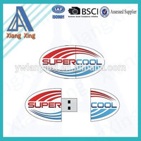 cheap wholesale fashion gift PVC custom usb with your shape your logo