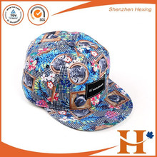 embroidery logo fashional basketball snapback cap