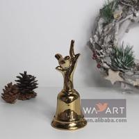 Ceramic Hand Ring Bells Small Christmas Bells