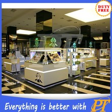 Cosmetic store display shelves cardboard display stand skin care products display