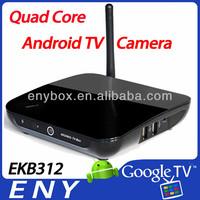Quad-Core RK3188 Mali400 Android 4.2.2 2gb/8gb 2.0MP camera Bluetooth Wifi EKB312 CS968 cs 968 tv box