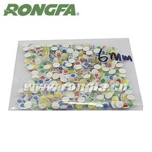 china suppliers 6mm round educational diy plastic eyes