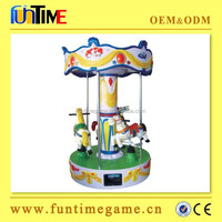 Hot selling small children carousel for sale,coin operated carousel rides amusement ride