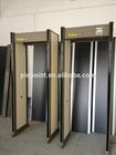 33 zonas caminhe pelo detector de metais da porta, door frame metal detector de porta de segurança com display lcd pd6500i