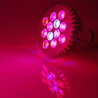 12W 15W 18W E27 LED Plant Grow Light Lamp Bulb Flower Hydroponic