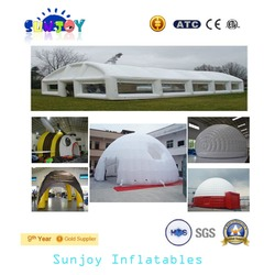 2016 Fascinating inflatable camping luxury tent 100% high quality wedding tent grow tent from Guangzhou direct manufacturer