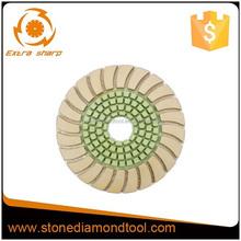 Sunflower Granite polishing pads, tools to work with granite