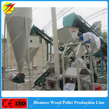 1-2T/H Wood Pellet Production Line For Timber Mill Plant