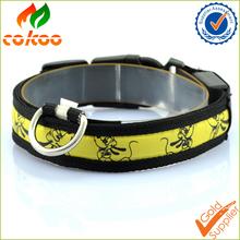 new products 2016 LED dog collar bulk/dog product yiwu