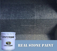 CRYSTONE Exterior Wall coatings A-018 low price natural effect real stone granite paint